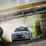 Eiropas rallija čempionāta posma Rally Liepāja ietvaros arī divi Latvijas posmi
