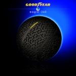Goodyear Eagle-360 GOOD DESIGN™ riepa novērtēta par tās vienreizīgo formu un dizainu