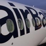 Pirmajā šā gada dienā Rīgā ieradies otrais Bombardier CS300