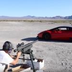 Lētas slavas dēļ blogeris apšauda tūningotu Lamborghini no snaiperenes! Diezgan smieklīgi…