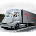 Ja tuksneša vidū pamani šo, tad nebrīnies! Tesla izmēģina bezpilota kravinieku!