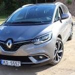 Renault Grand Scenic 2017 videoapskats – kurš pieteiksies notīrīt vējstiklu no iekšpuses?