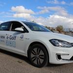 Pilnīgi elektriska VW Golf testa brauciens – nu ļoti jau nu tālas nākotnes perspektīvas!