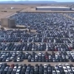 BBC ar dronu nofilmē nevienam nevajadzīgus Volkswagen vairāk kā 7 miljardu eiro vērtībā