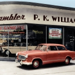 Pirmais automobilis ar aizslēdzamu benzīna bāku! Ieskats Rambler automobiļu markas dzīves gājumā!
