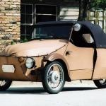 Auto vēstures lapaspuses : Blakusvāģa ''brālēns'', automobilis Velorex!