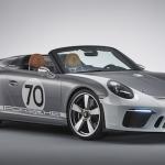 Konceptauto Porsche 911 Speedster: tīrasiņu kabriolets ar vairāk nekā 500 ZS jaudu