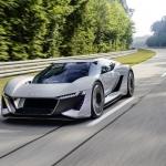 Audi prezentē dizaina un tehnikas koncepta automašīnu – PB18 e-tron