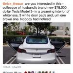 """Tesla parāda sevi no """"labās"""" puses – vienam automobilim divas dažādas durvis!"""
