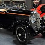 Melnītis ar oranžo maliņu! Franču automobilis Lorranie Dietrich!