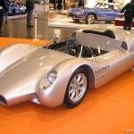 Interesants sporta  automobilis ar garu ''snuķi'' ! 1963. gada Dolphin-Porsche  America roadster!