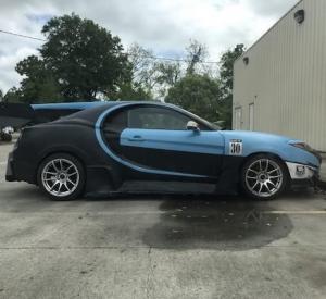 Kas tas ir – Bugatti Chiron vai Hyundai Tiburon (Coupe)? Rokdarbu pulciņš Ukrainā!