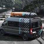 Parīzē pirmo reizi varēs redzēt jauno Peugeot Boxer 4×4 konceptauto. Izskatās daudzsološi!