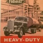 Ieskats ASV  kravas automobiļu markas Peterbilt vēstures lapaspusēs!