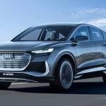 Pasauli ieraudzījis jauns konceptauto – Audi Q4 Sportback e-tron. Elektriskais, bet tomēr…