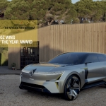 MORPHOZ iezīmē jauno Renault elektrisko modeļu klāstu, tāpat kā Mégane eVision, kas tika prezentēts 2020. gada beigās