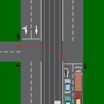 Neapdomīgs kreisais pagrieziens parasti beidzas ar ļoti smagām avārijām. Visbiežāk pašu autobraucēju vainas dēļ!