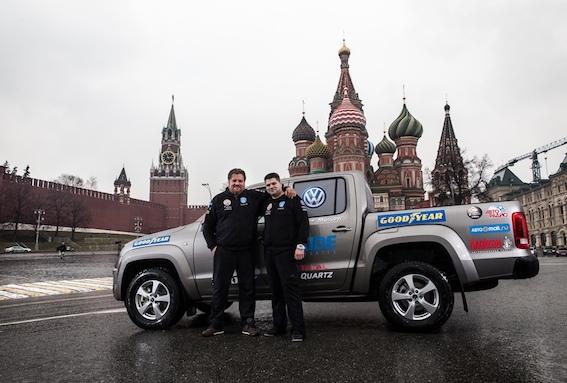 No Dakāras līdz Maskavai 3 dienās, 4 stundās un 54 minūtēs - pasaules rekords
