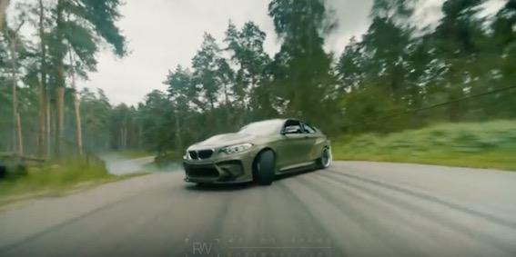 Krievijas medijs: Bijušajā padomju teritorijā Latvijā radīts unikāls drifta BMW