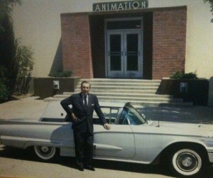 Walt Disney 1958 Ford Thunderbird