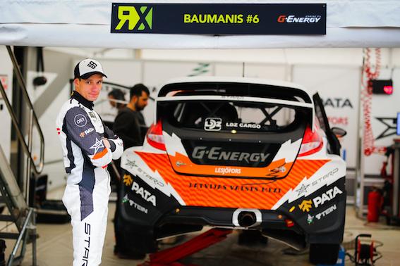Kā mūsējiem FIA pasaules rallijkrosa čempionātā Barselonā gāja? Labi gāja!