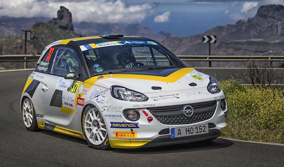 ADAC Opel Rallye Junior Team finišē otrie Gran Canaria rallijā