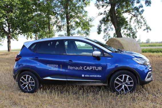 Testa brauciens ar jauno Renault Captur un 1.3 litru benzīna dzinēju - laba alternatīva dīzelim!