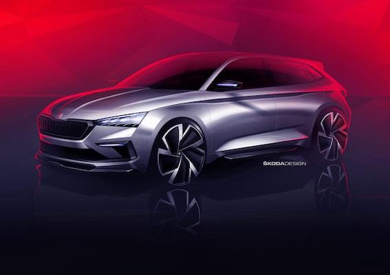 Parīzes starptautiskajā auto izstādē Škoda gatavo intrigu - ŠKODA VISION RS