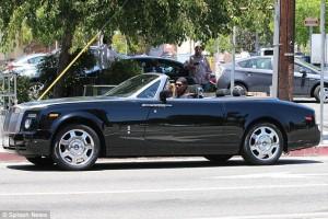 Eddie Murphy Rolls Royce Phantom Drophead coupe