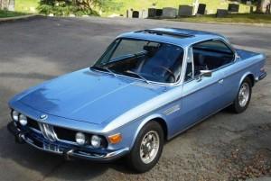 Sean Penn's 1972 BMW 3.0 CS