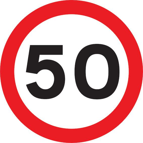 Tiks samazināts atļautais braukšanas ātrums uz Dienvidu tilta - prātīgi pie maksas fotoaparātiem!