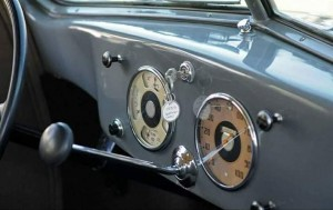 Hoffman X8 1935 interior