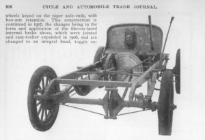 1907 Cartercar chassis