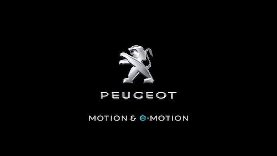 "Peugeot savam logotipam pievieno saukli ""Motion & e-Motion"""
