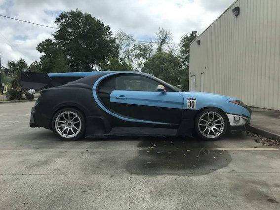 Kas tas ir - Bugatti Chiron vai Hyundai Tiburon (Coupe)? Rokdarbu pulciņš Ukrainā!