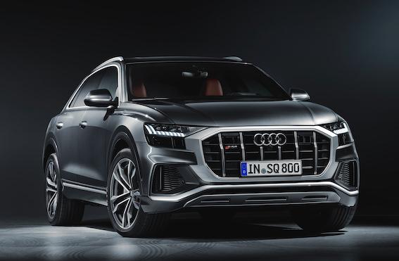 Audi prezentējis sportisko Q saimes modeli – Audi SQ8 TDI! Liels apvidnieks ar maza sportinieka raksturu!