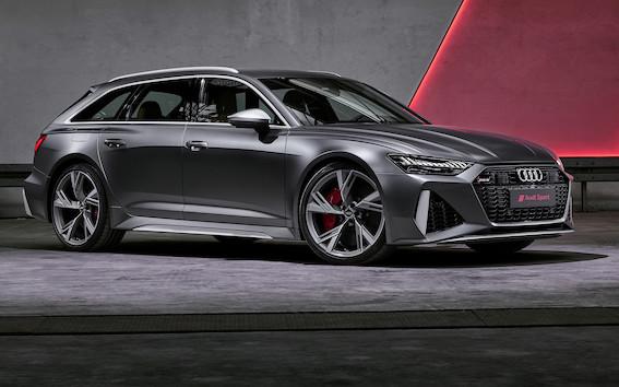 Audi RS modeļu ikonas ceturtā paaudze – jaunais Audi RS 6 Avant