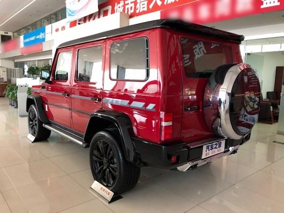 Kurš grib Mercedes G-Class par pus cenu? Cik tur tā darba - jābrauc uz Ķīnu!