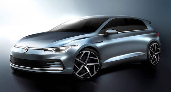 Dāmas un kungi! Jau atkal jauna Volkswagen Golf paaudze klauvē pie durvīm!