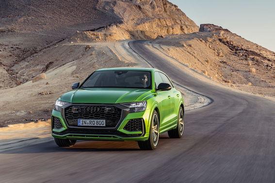 Audi iepazīstina ar sportiskāko Q modeļu saimes pārstāvi Audi RS Q8