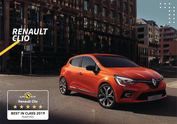 """""""Euro NCAP"""" atzīst jauno """"Renault Clio"""" par drošāko auto supermini klasē"""