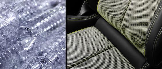 Vai var sēdēt automobilī pie stūres uz vecām PET pudelēm? Izrādās - elementāri!