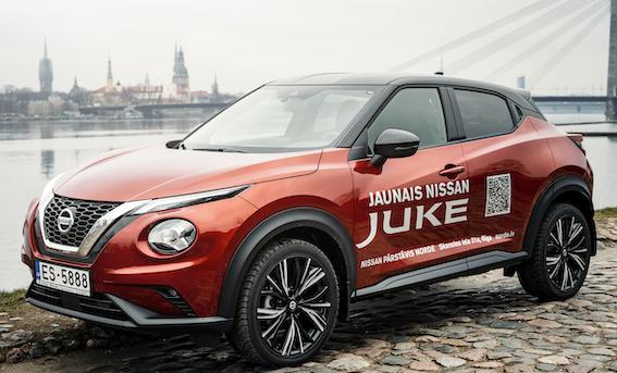 Nissan Juke - krosovers atdzimst un turpina savu uzvaras gājienu