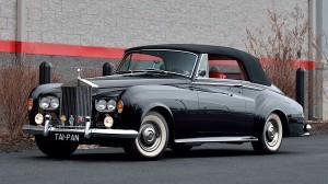 Tony Curtis Rolls Royce Silver Cloud III 1963