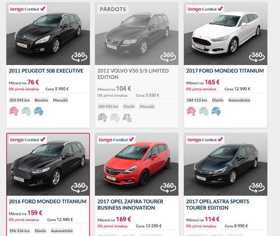 Kopš pandēmijas sākuma apmēram 15% no Latvijā pārdotajām lietotajām automašīnām ir iegādātas attālināti