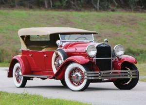 1929 Kissel Model 9-95 White Eagle Tourster