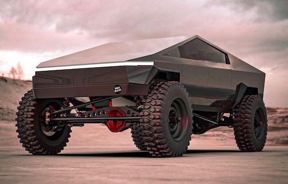 """Ar ūdeņradi darbināms auto izsauc uz divkauju Tesla Cybertruck. Abi sola viens otram """"sadot pa pakaļu""""!"""