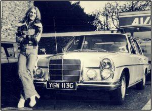 Rick Parfitt 1970 Mercedes Benz 280 SE