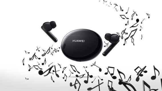 Huawei iepazīstina ar jaunajām bezvadu austiņām FreeBuds 4i - darbības laiks līdz pat 10 stundām