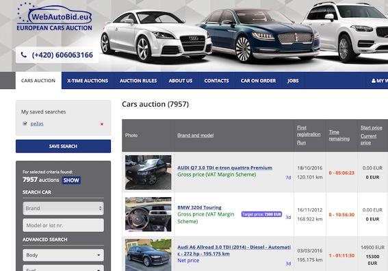 Cik izdevīgi ir iegādāties automobili kādā no Eiropas auto izsolēm? Mēģinām noskaidrot!